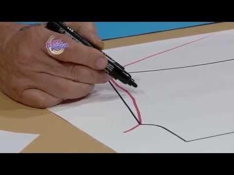 ▶ Hermenegildo Zampar - Bienvenidas TV en HD - Explica los escotes para vestidos y musculosas - YouTube