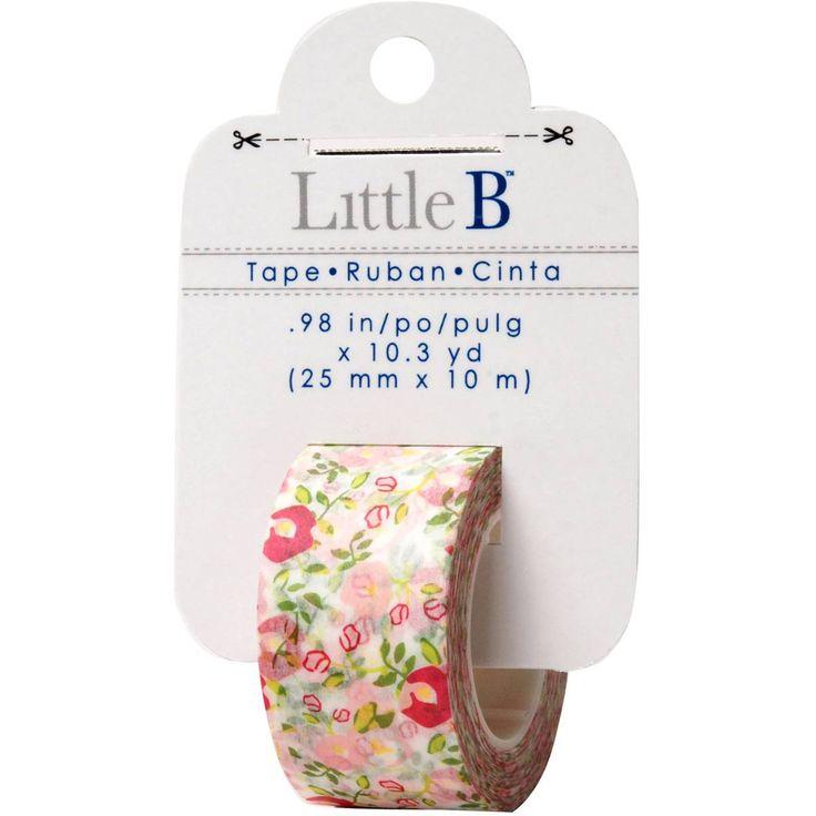 Little B Floral 25 mm Tape