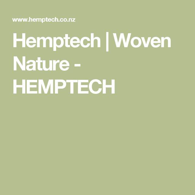 Hemptech | Woven Nature - HEMPTECH