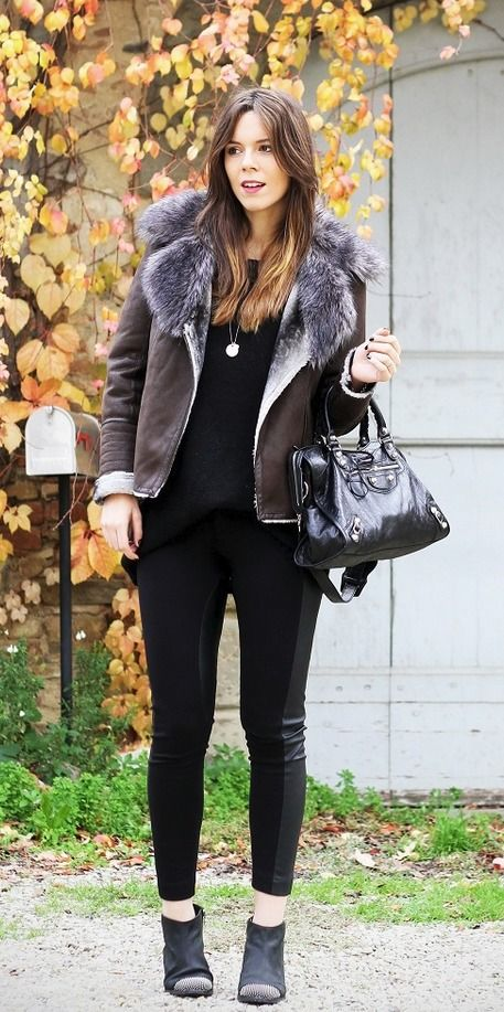 Brown and Black #Fall Outfit
