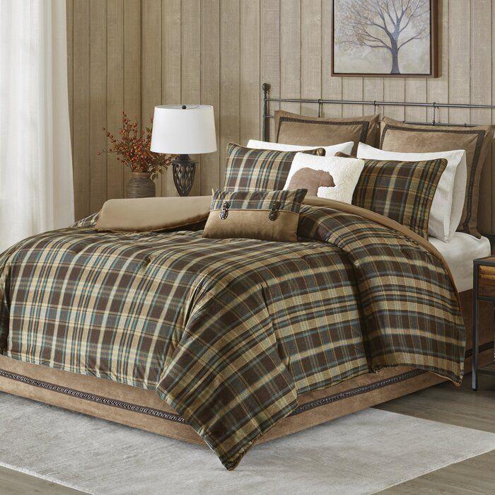 Hadley Comforter Set In 2020 Plaid Comforter Comforter Sets
