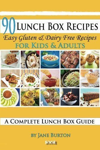 90 Lunch Box Recipes: Healthy Lunchbox Recipes for Kids. A Common Sense Guide & Gluten Free Paleo Lunch Box Cookbook for School & Work by Burton, Jane (2014) Paperback * Want additional info? Click on the image.