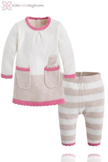 6cf8be651 Baby Girl Knit Sweater and Pants Set