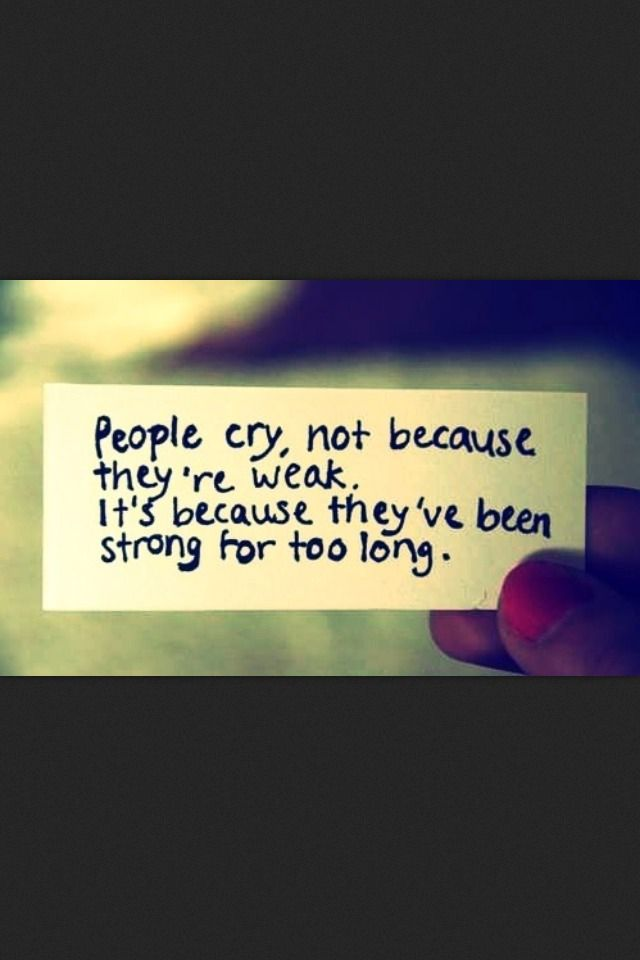 This is my favorite quote ever I love it and have it written every where :) but it's also kind of sad. :(