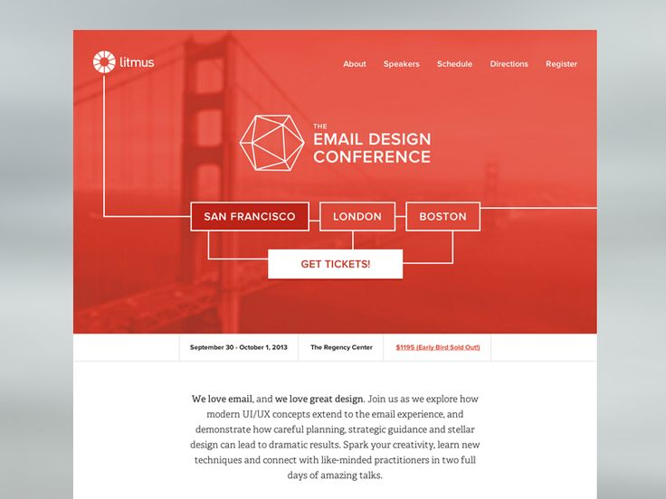 The Email Design Conference - San Francisco