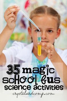 magic school bus science activities for kids!