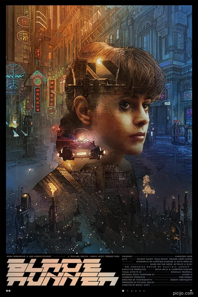 Picijo Blade Runner In 2020 With Images Blade Runner Poster