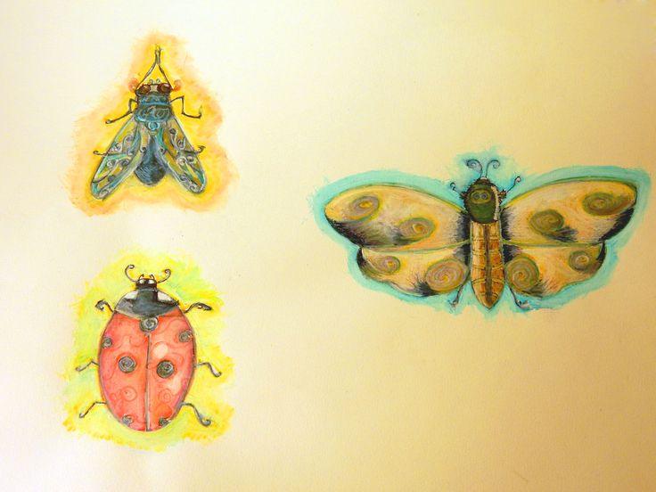 "Studio di ""Insetti"" (""Bugs"" - fairy tale characters)"