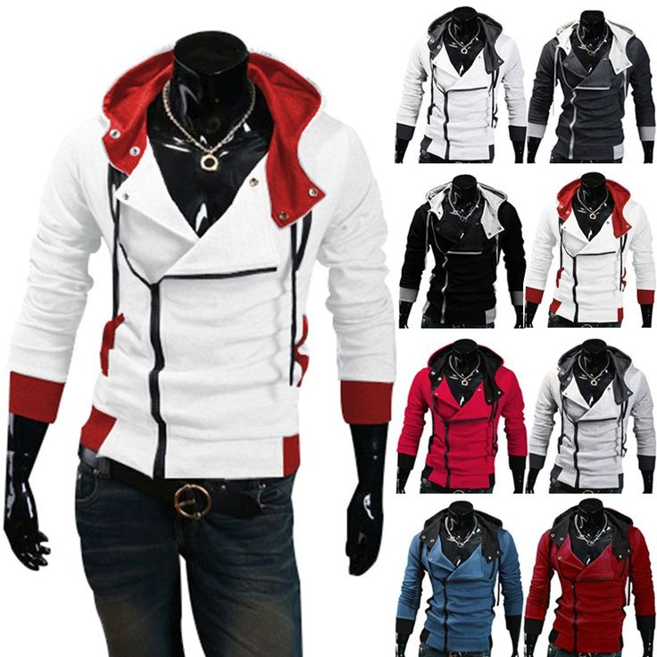 Free shipping 2016 Autumn & Winter Men Brand Fashion Casual Slim Cardigan Assassin Creed Hoodies Sweatshirt Outerwear Jackets //Price: $28.00 & FREE Shipping //     #assassins