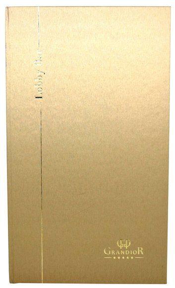 Speisekarte LUCIS 2/3A4 - metallisierte Buchbinderpapier