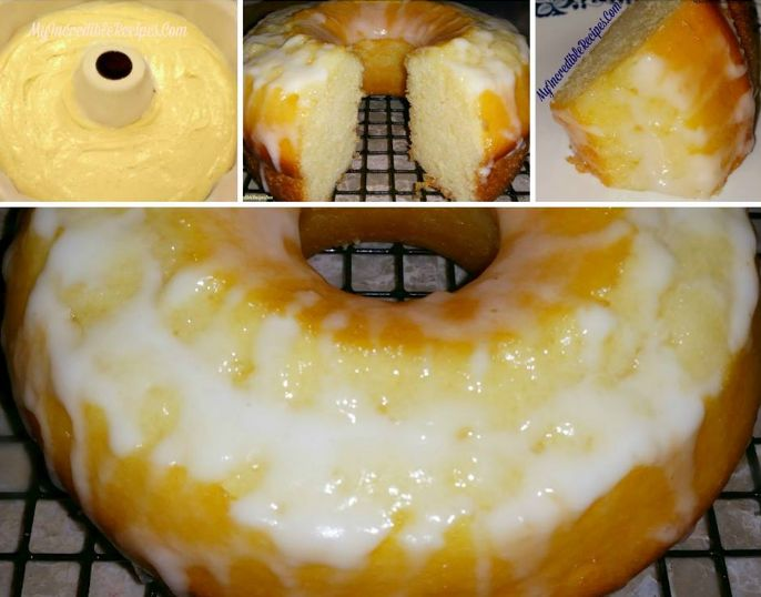 Lemon 7 UP Pound Cake Recipe