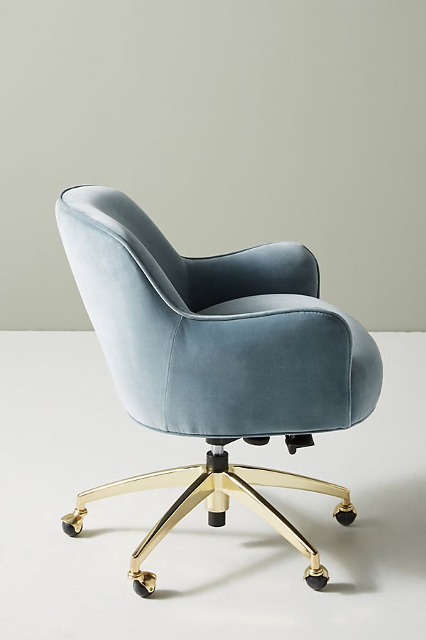 Camilla Swivel Desk Chair Office Chair Design Most Comfortable Office Chair Blue Chairs Living Room