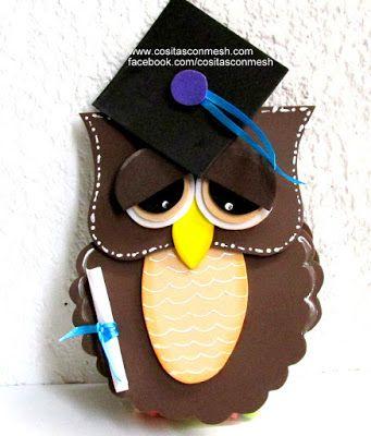 4 ideas de manualidades para una fiesta de graduación ~ cositasconmesh