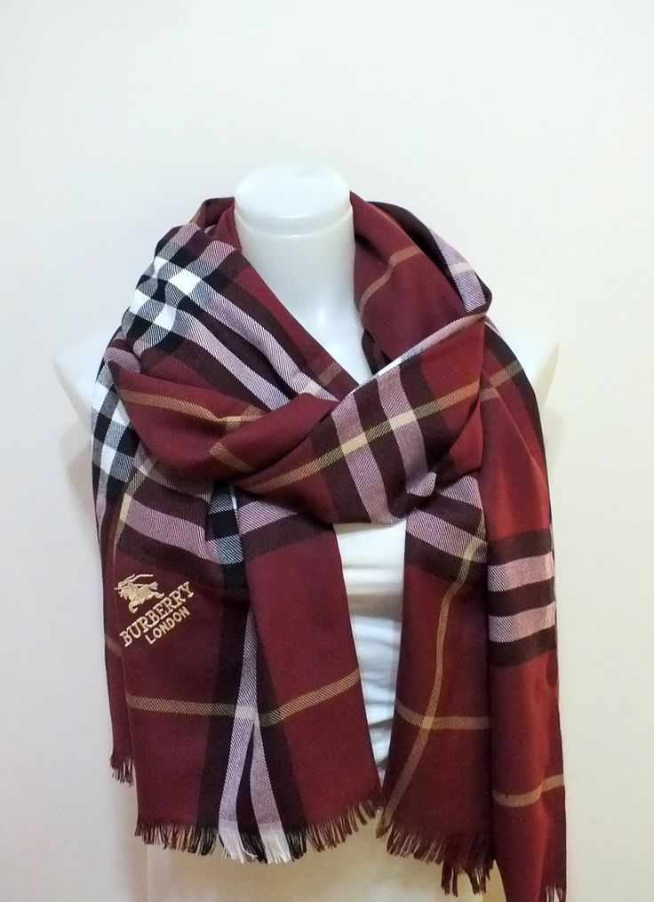 Burberry Unisex Trend scarf Pashmina Oversize Scarf Cool gift for Men Autumn fashion Accessories for Women Gift for Women Burberry Scarf by MissSelinAccessories on Etsy