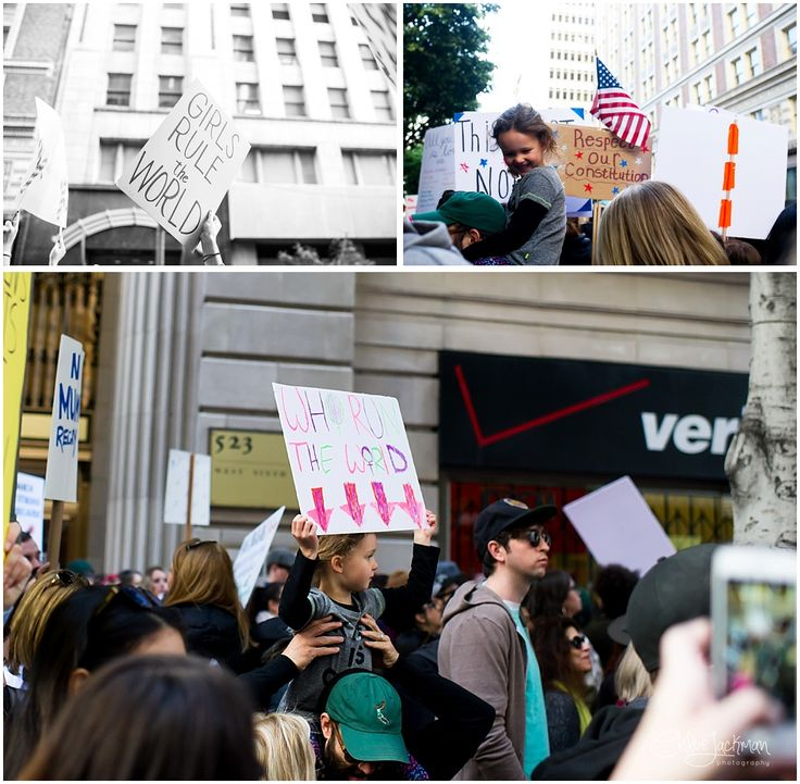 Los Angeles Women's March: Nevertheless, She Persisted | Chloe Jackman Photography