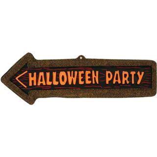 Panneau indicateur Halloween Party