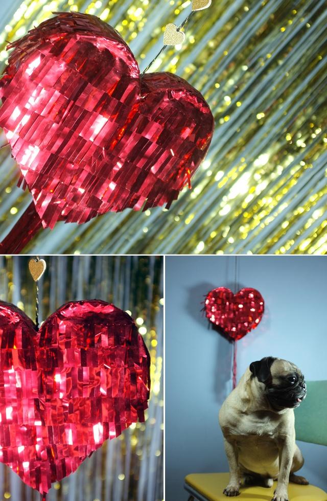heart pinata // diy
