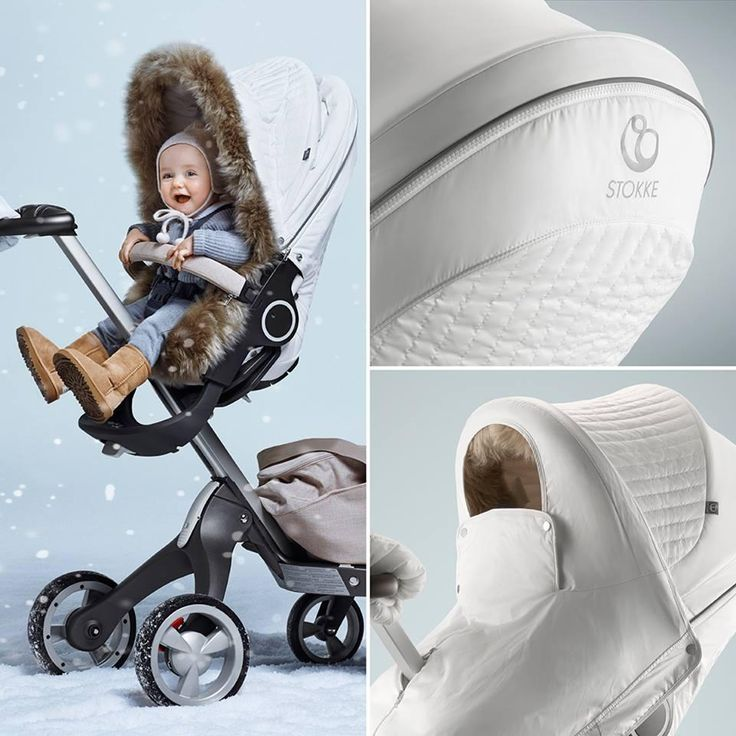 Get ready for some cold weather with the Stokke Stroller Winter Kit