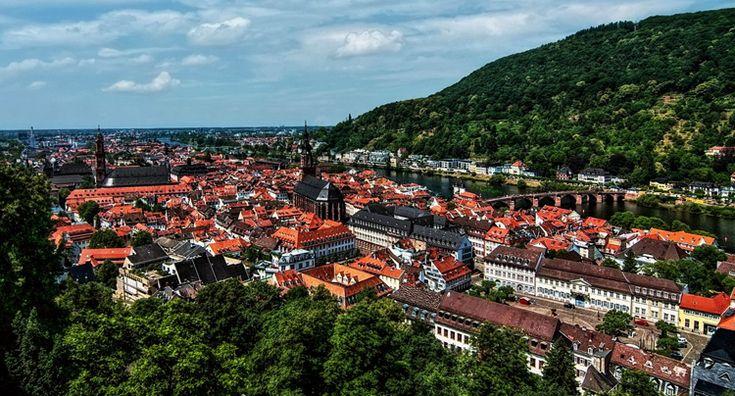 Достопримечательности и интересные места Гейдельберга (с ...