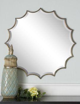 uttermost san mariano starburst mirror 34 x 34 x   346 25 best mirror images on pinterest   mirror mirror bathroom      rh   pinterest