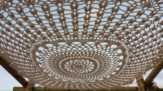 Giant Wedding Canopy, Chuppah, Dream Catcher Photo Prop, Outdoor Wedding, Beach. 5 feet, 6 feet, 7 feet options