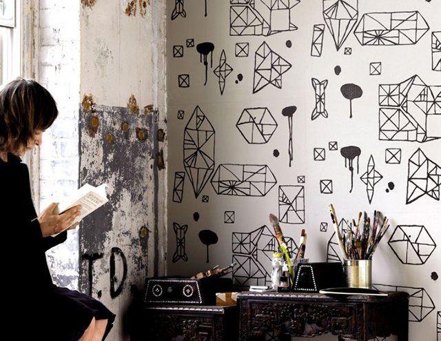 Home Decor: la parete che rinnova una stanza (ovvero lavoretti da fare in caso di noia durante le vacanze di Natale)