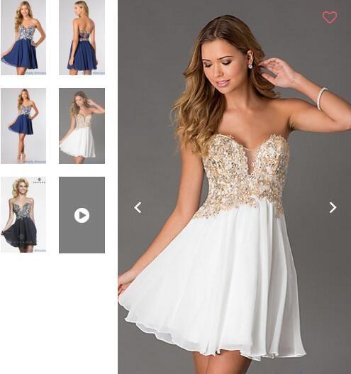 31 besten White Prom Dress/White Party Dress Bilder auf Pinterest ...