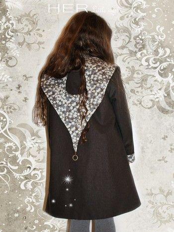 HER Little world, Patron de couture pour vêtement enfant, Veste Boréale