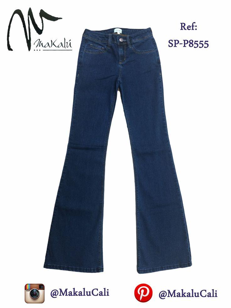 Jean para mujer de bota ancha, moda versatil...  #Shorts #indigo #makalucali #centrocomercialBahia #CentroComercialEltesoro #RopaAmericana #Cali #Colombia #ModaFemenina #tendencias #tiendasMakalu