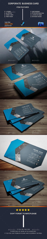 Simple Business Card Template PSD