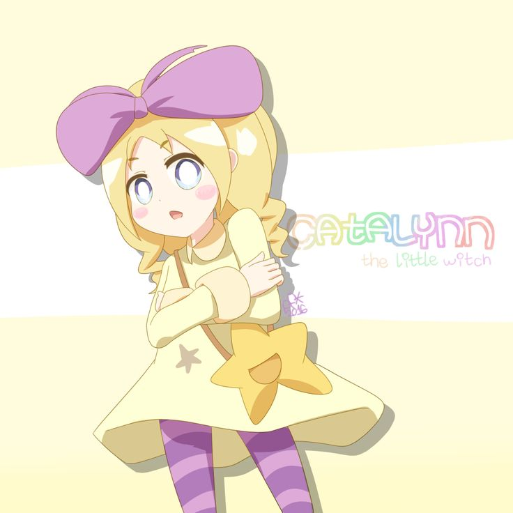 Catalynn the little witch! - Ciel project