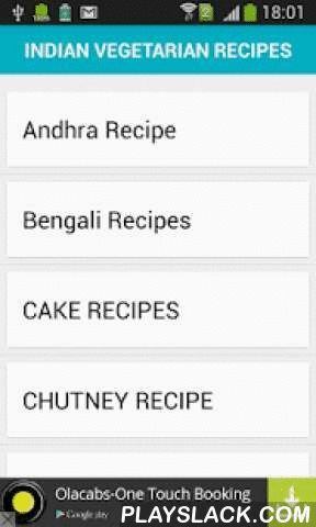 Complete Recipe  Android App - playslack.com , Complete recipe is app which provide you no of recipe with category and subcategory.You can learn and make each recipe by using this app All recipe are very good listed as well as all recipe contains proper ingredients list as well as proper procedure.Feature - .North Indian Vegetarian Dishes· South Indian Vegetarian Recipes· West Indian Vegetarian Receipes· East Indian Vegetarian Receipes· Andhra Receipe· Bengali Recipes· Goan Recipes·…