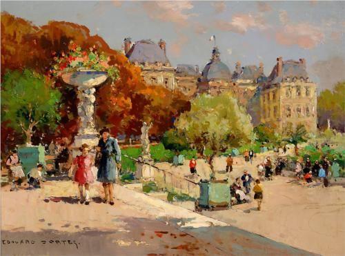 Tuileries Garden - Edouard Cortes