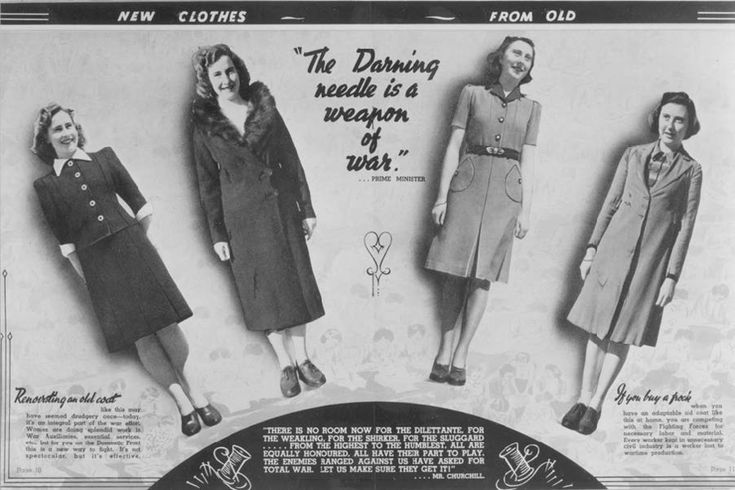 Australian Rationing booklet, New Clothes from Old, 1943. Rationing Commission (CA 264).