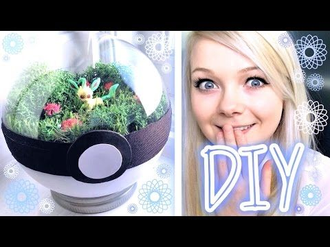 HOW TO POKEBALL TERRARIUM | DIY POKEMON CRAFT! - YouTube