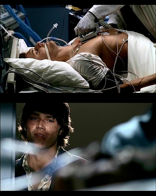 Sam's going to cry :'( and i just watched this episode for the second time and cried because this would be the only time D: