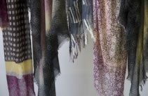 wool scarves by Dal MONDO Collection