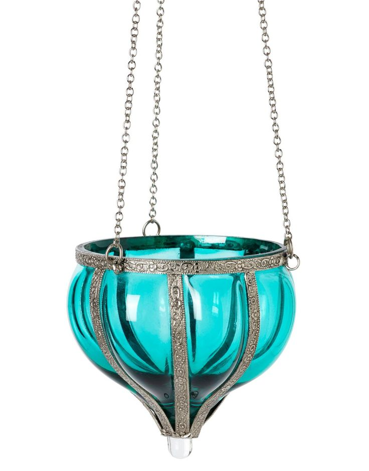 DROP ljuslykta mörkturkos | T-light hanging | Ljus & lyktor | Inredning | INDISKA Shop Online 99,- sek