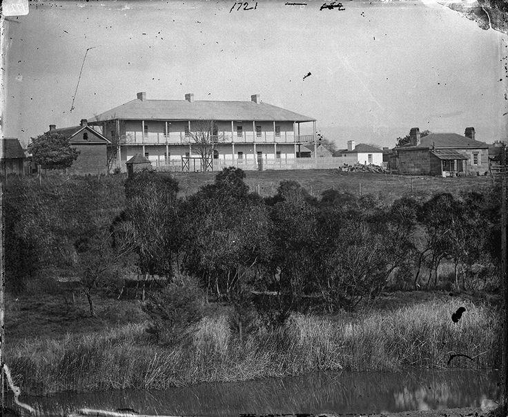 Parramatta Hospital c1900.Photo from Dictionary of Sydney.A♥W