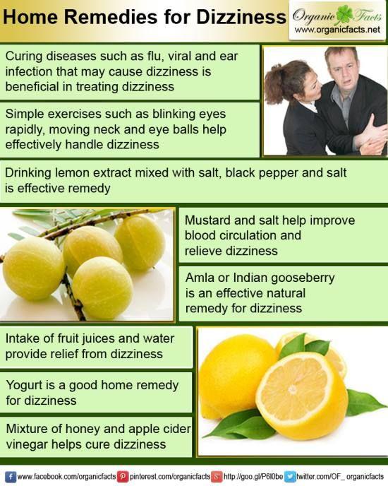 Dizziness Treatments Natural