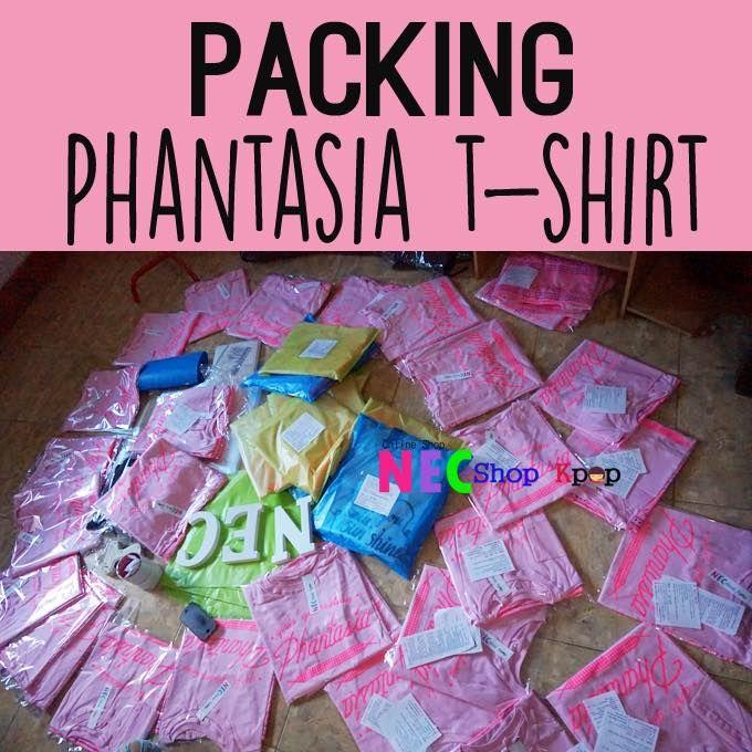 PACKING AND SHIPPING T-SHIRT PHANTASIA - NEC Shop Kpop