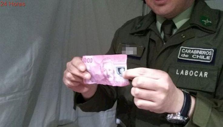 Fiestas Patrias: Carabineros entrega recomendaciones para identificar billetes falsos