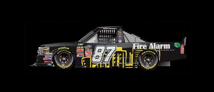 Paint Scheme Preview: Kentucky  Wednesday, July 5, 2017  Joe Nemechek will drive the No. 87 Fire Alarm Services Inc. Chevrolet.       Photo: 36 / 36