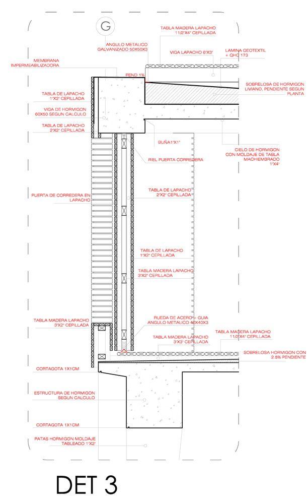 Galería de 50 Detalles constructivos de arquitectura en madera - 199