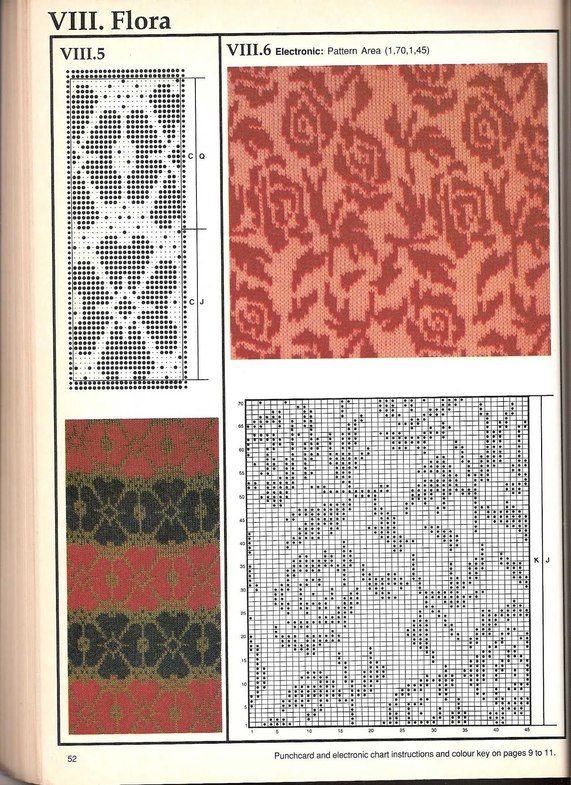 Машинное вязание - жаккард Машинное вязание - жаккард #51