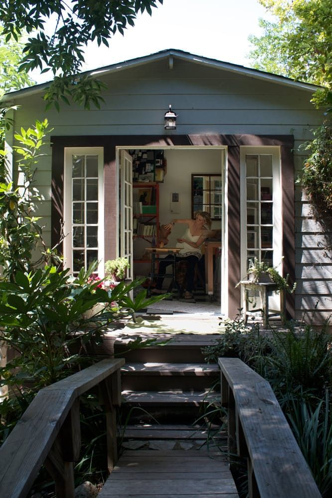 Name: Isabelle Dahlin and Brandon BoudetLocation: Echo Park, CaliforniaSize: 1,250 square feetYears lived in: 5 years — Own What do you get when you mix an interior designer and chef under one roof? A lovely one bedroom English style cottage with incredible landscaping, an organic vegetable garden and a chicken coop! Isabelle Dahlin, owner of deKor, and her boyfriend Brandon Boudet, of Little Dom's, have created the ideal getaway right at home in the hills of Echo Park.