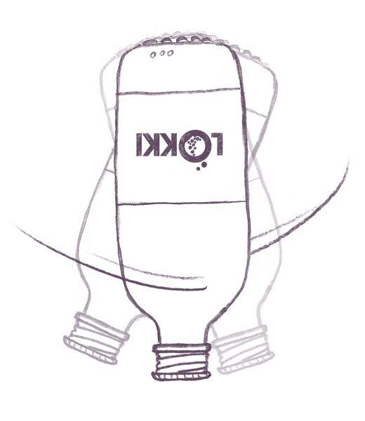 Avant ouverture, faites DÉLICATEMENT swinguer la bouteille tête en bas  www.lokki-kombucha.fr