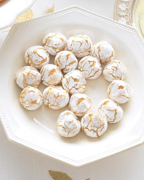 Pinched Orange Macaroons Recipe