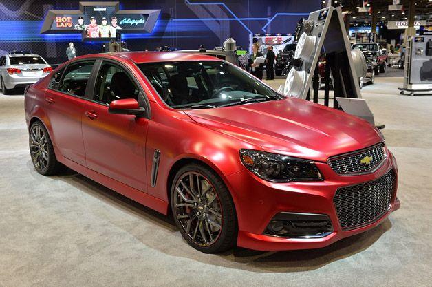 Jeff Gordon's SS Performance Sedan Concept