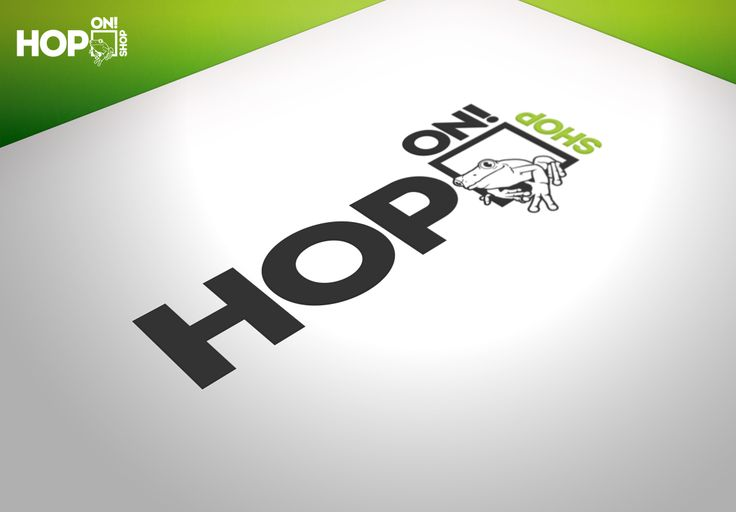 Hop On! Shop were looking for a modern, fun and original logo for their business. They gave us the idea of using a frog and this is what we came up with. We really like this one, I hope you all do too.